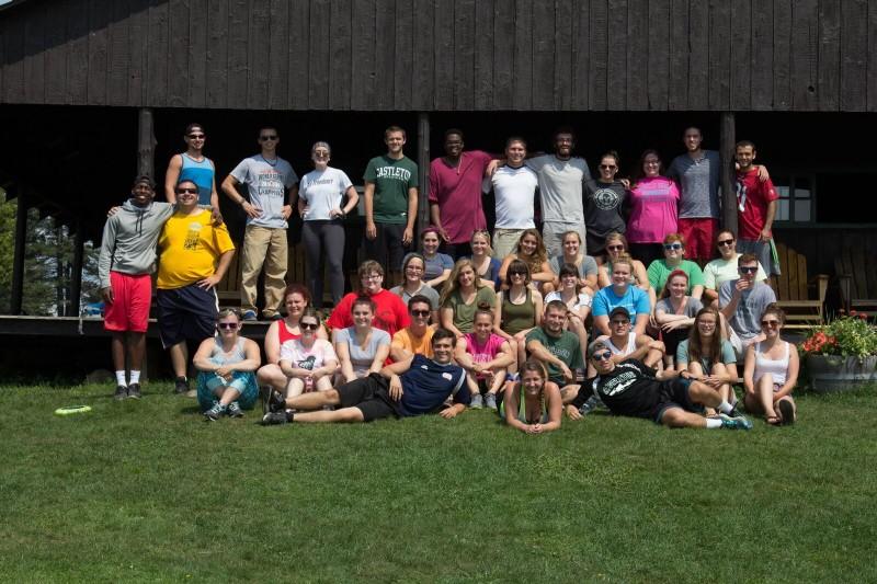 community advisor training group photo