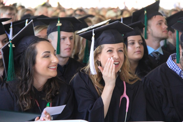 Nursing Student Graduates