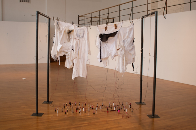Kelly Knight installation