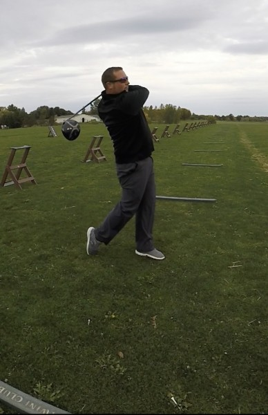 Reece Golfing