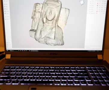 3D image on computer