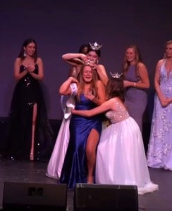 Danielle Morse at Miss Vermont Pageant