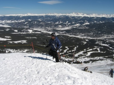 Dave Blow Skiing