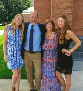 Dave Blow and family