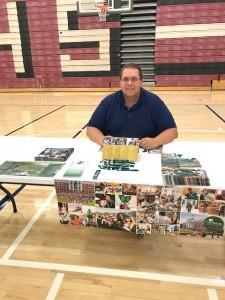 Matt Fisher '18 at a recent college fair