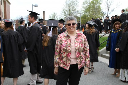 Victoria at Commencement